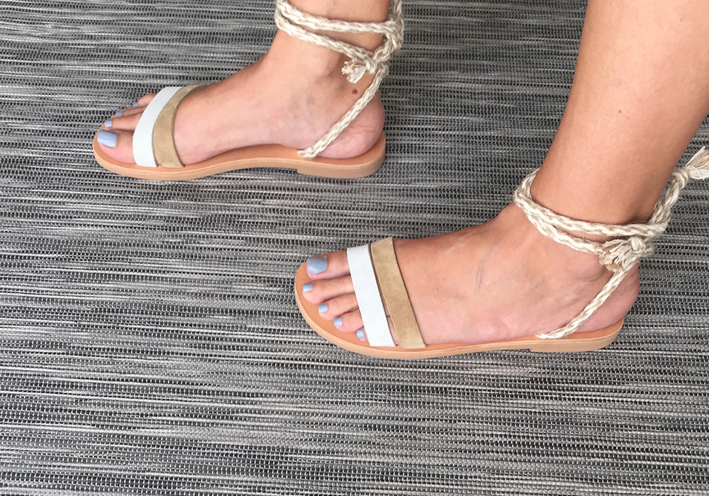 Aphrodite sandals, leather handmade sandals
