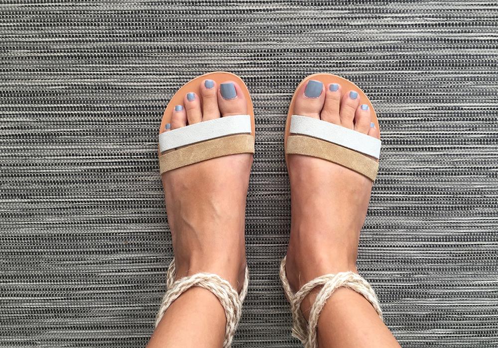 Aphrodite sandals, leather handmade sandals